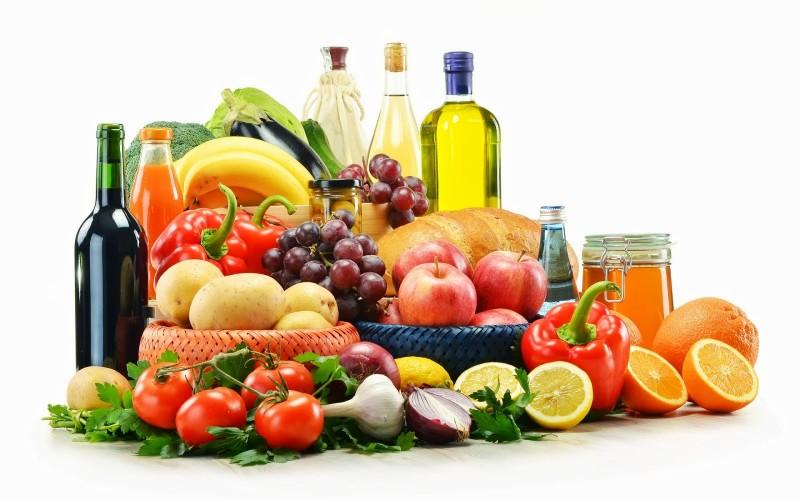 foto con alimenti